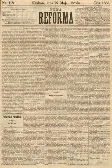 Nowa Reforma. 1885, nr118
