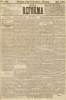 Nowa Reforma. 1885, nr123