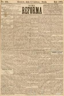 Nowa Reforma. 1885, nr124