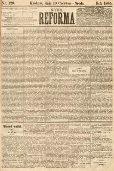 Nowa Reforma. 1885, nr129