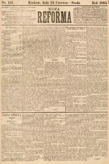 Nowa Reforma. 1885, nr141