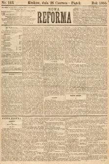 Nowa Reforma. 1885, nr143