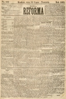 Nowa Reforma. 1885, nr156