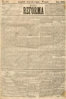 Nowa Reforma. 1885, nr157