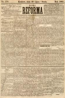 Nowa Reforma. 1885, nr170