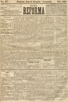 Nowa Reforma. 1885, nr177