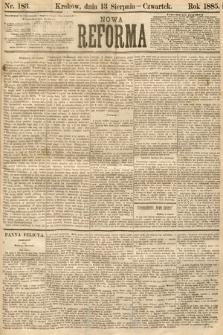 Nowa Reforma. 1885, nr183