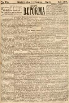 Nowa Reforma. 1885, nr184