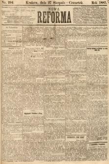 Nowa Reforma. 1885, nr194
