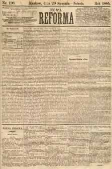 Nowa Reforma. 1885, nr196