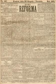 Nowa Reforma. 1885, nr197