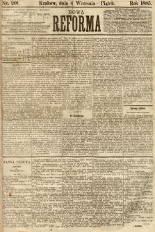 Nowa Reforma. 1885, nr201