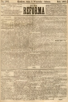 Nowa Reforma. 1885, nr202