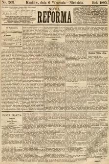 Nowa Reforma. 1885, nr203