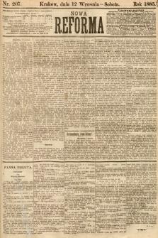 Nowa Reforma. 1885, nr207