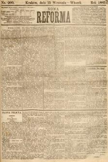 Nowa Reforma. 1885, nr209