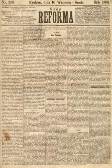 Nowa Reforma. 1885, nr210