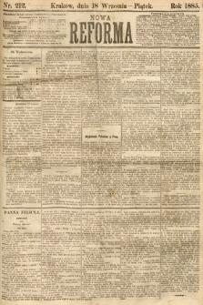 Nowa Reforma. 1885, nr212