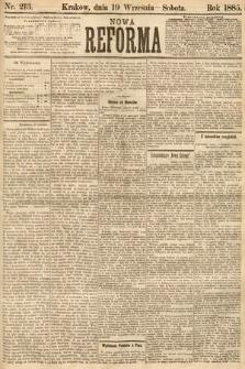 Nowa Reforma. 1885, nr213