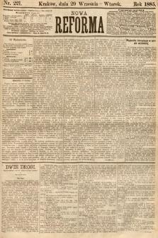 Nowa Reforma. 1885, nr221