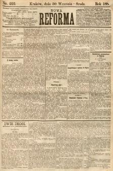 Nowa Reforma. 1885, nr222