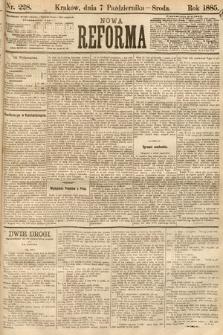 Nowa Reforma. 1885, nr228