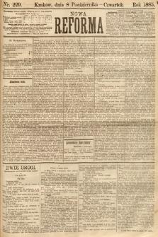 Nowa Reforma. 1885, nr229