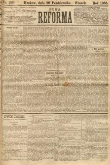 Nowa Reforma. 1885, nr239