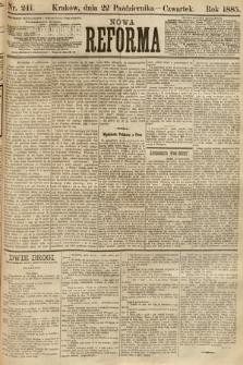 Nowa Reforma. 1885, nr241