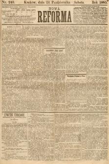 Nowa Reforma. 1885, nr243