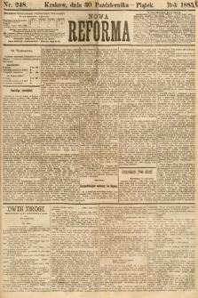 Nowa Reforma. 1885, nr248