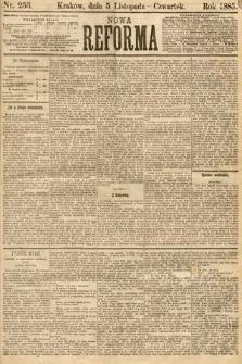 Nowa Reforma. 1885, nr253
