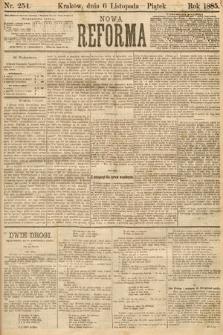 Nowa Reforma. 1885, nr254