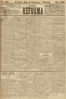 Nowa Reforma. 1885, nr262