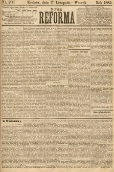 Nowa Reforma. 1885, nr263
