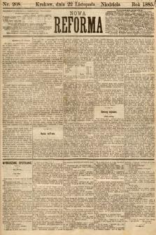 Nowa Reforma. 1885, nr268