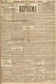 Nowa Reforma. 1885, nr272
