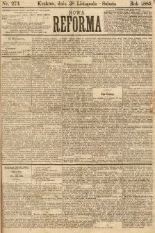 Nowa Reforma. 1885, nr273