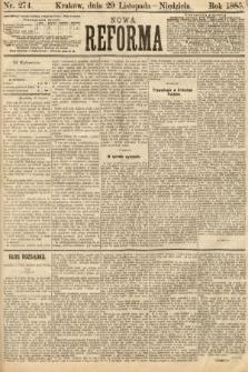 Nowa Reforma. 1885, nr274