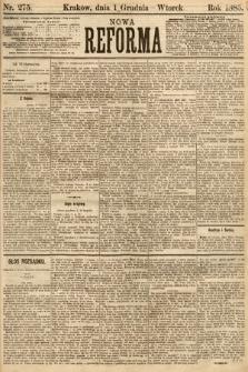 Nowa Reforma. 1885, nr275