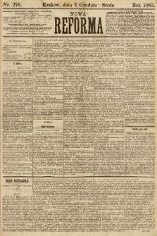 Nowa Reforma. 1885, nr276