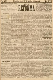 Nowa Reforma. 1885, nr277