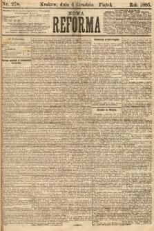 Nowa Reforma. 1885, nr278