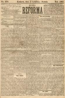 Nowa Reforma. 1885, nr279