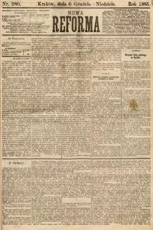 Nowa Reforma. 1885, nr280