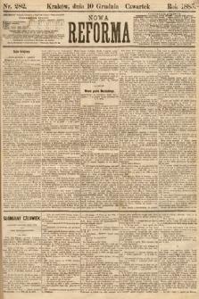 Nowa Reforma. 1885, nr282