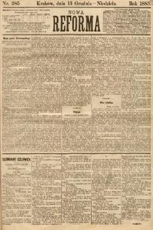 Nowa Reforma. 1885, nr285