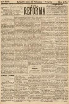 Nowa Reforma. 1885, nr286