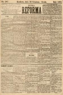 Nowa Reforma. 1885, nr287