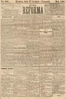 Nowa Reforma. 1885, nr288